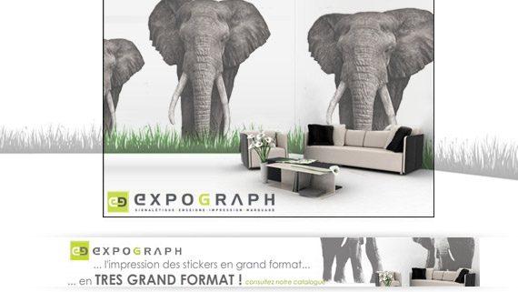 Expograph Stickers Elephants