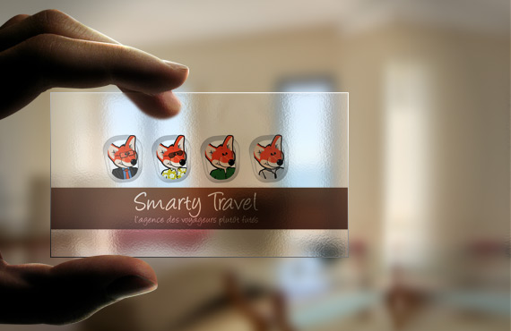 Carte Visite Smarty Travel