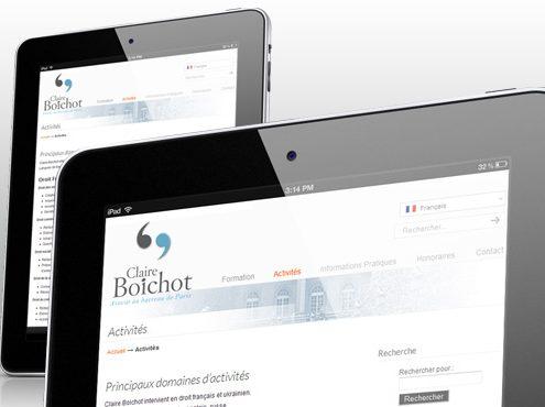 Claire Boichot Site Web