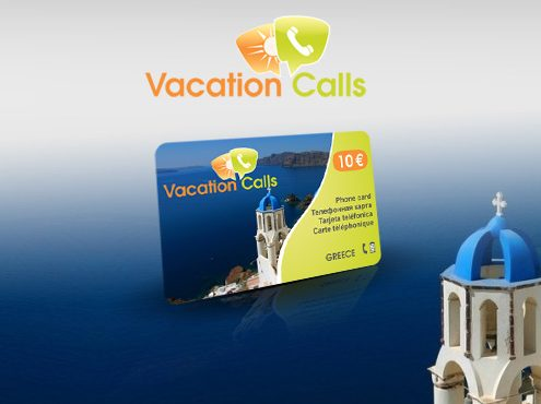 Vacation Calls Phone Card