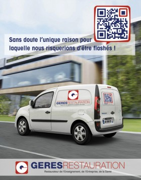 GERES Restauration (QRCode)