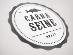 Carnaseine 75/92 (identité visuelle Logotype)