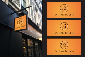 La Fine Bouffe (identité visuelle Logotype)
