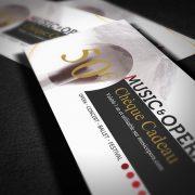 Music & Opera - chèque cadeau 2