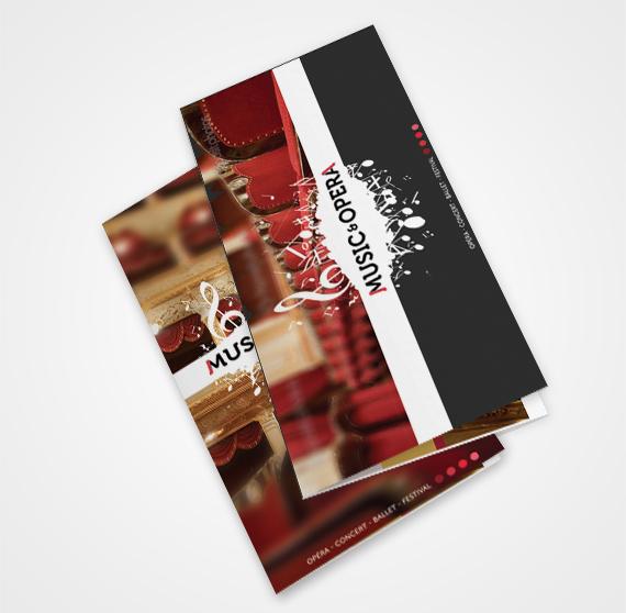 Music & Opera - pochette à billets spectacles