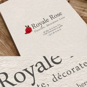 Royale Rose (identité – Logotype)