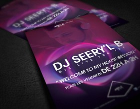 DJ Seery'l B à l'Apple Bar – Bordeaux (Flyer)