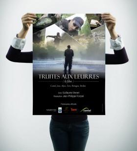 Truite aux Leurres – le film (Affiche)